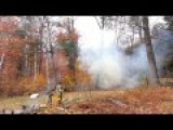 Cutting Down Trees With Tannerite Explosions
