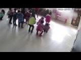 Teacher Abuses Kids At Kindergarten