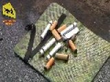 4 20 2014 Ukraine. The Attack On The Checkpoint Pro-Russian Forces In Slavyansk. Three Residents Killed
