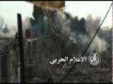 SAA Open A Hellgate Underneath Rebel Position, East Ghouta