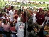 Bama Fan Goes After OU Fans At Sugar Bowl
