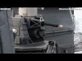 4500 ROUNDS PER MINUTE ! CIWS Anti Ship Missile GATLING GUN TEST