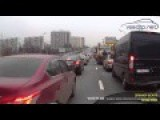 Lane Filtering In Russia - Just Knew Something Would Happen
