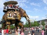 45 Ton Steam Punk Elephant Loves To Soak Kids