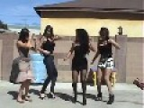 **HOT MEXICAN GIRLS** Dance In The Back Yard == Parody