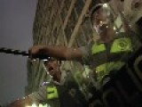 The Exact Moment When Police Closes The Circle Around Protester In São Paulo