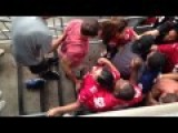 49ers And Cardinal Fans Bloody Fight