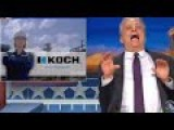 Stewart Mercilessly Mocks Daily Show's Newest Advertiser: Koch Bros