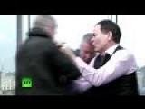 'Get Outta Here!' Max Keiser Beats 'Jamie Dimon' Bankster