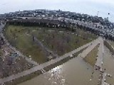 Drone Footage Shows Louisville Waterfront Flooding