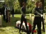 RAF Crew Shot Down In WWII Buried In Italian War Cemetery