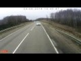 Incredible Head On Crash Of Truck And Minivan