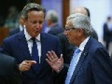 Juncker-Cameron Spat Hots Up Following Luxembourg Tax Revelations