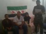 Syria - Al-Ikhbaria Propaganda Reporters Yara Saleh & Collegues Captured By FSA In Damascus 12 8 12
