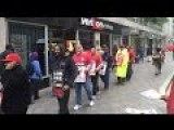 Workers In US On Strike To Protest Against Exporting 40,000 Jobs Overseas