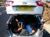 Woman Caught Smuggling Palestinians And Clonex Pills Inside Her Car Into Israel