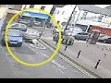 Moment 62 Year Old Woman Is Run Over By Driver Who Then Flees