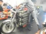 48 Cylinder Kawasaki Motorcycle