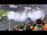 Race Rage: Two Racers Have A Demolition Derby In The Middle Of A Race