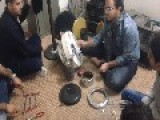 Kurdistan : Making Music With Broken Heater & Tools