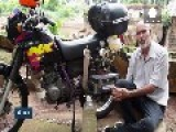 Water-powered Motorbike Brainchild Of Brazilian Civil Servant