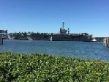 USS George Washington And 6,000 Crew Dock In Brisbane One Last Time