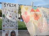 Syrians Express Express Peace Hope At Art Exhibit