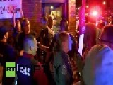 USA: This Ferguson Pizza Place Is Simmering With Tensions