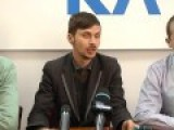 Radical Party Activists Attacked By Right Sector Fascists In Sumy 23-10-14 Ukraine Elections