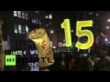 Thousands March To Demand $15 Minimum Wage In US