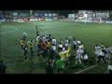 Brawl After Brutal Kick To The Head In Soccer Match