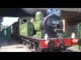 'Joem' J72 69023 And A4 60009 'Union Of South Africa' Give Brake Van Rides At NRM Shildon, 27th July 2016 *HD*
