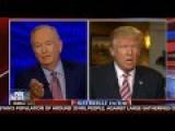 Donald Trump Bill O'Reilly FULL Interview After Second Debate - 10 11 16
