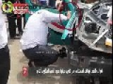 Exceptional Skills Of Egyptian Police When Handling Evidence