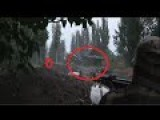 Ukraine Crisis Russia : Tank Defense Destroy Opponent In Donetsk - RAW VIDEO