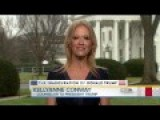 'Alternative Facts Are Not Facts, They're Falsehoods!: Chuck Todd Battles Kellyanne Conway