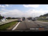 Accident On Polish Highway