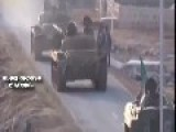 Kurdish Forces Use Tank Attack ISIS - RAW VIDEO