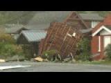 Homes, Buildings Wrecked In Oregon Tornado