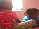 Very Young Black Girls Cursing Each Other Out