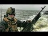 50 Cal Machine Gun - Open Water Engagement