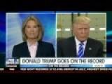 August 10, 2016 - Donald Trump On The Record Greta Van Susteren 2nd Amendment Hillary Clinton