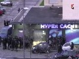 FRONT ANGLE RAID And BRI Raid On Hostage Taker In Paris