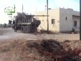THE FREE SYRIAN ARMY WAR-TRUCK!!