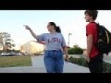Fat Republicunt Yells At Skaters For Swearing At Skate Park