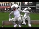 Jack Jones And Jamie Laing Hit Up London In Bunny Costumes