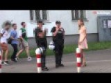 Cute Girl Asking Police For Sex In Poland