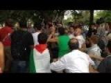 Pro-Israel U.S. Marine Manny Vega Attacked By Pro-Palestinians In Washington, DC