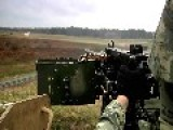 50 Cal Turret Mounted Humvee Firing
