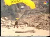 Australian Climber Makes A Base Jump From The Trango Power In Pakistan